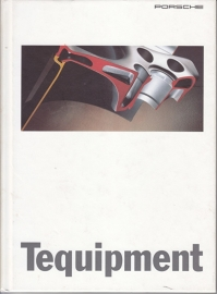 Tequipment brochure, 76 pages, 04/1995, hard covers, German language
