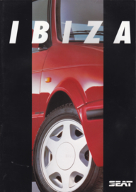 Ibiza brochure + separate colours sheet, 26 + 2 pages, Dutch language, about 1992