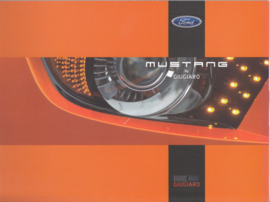 Ford Mustang concept by Giugiaro & Vredestein tyres brochure, 12 large pages, about 2006, English language