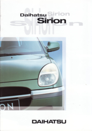 Sirion brochure, 20 pages, about 1997, A4-size, Dutch language