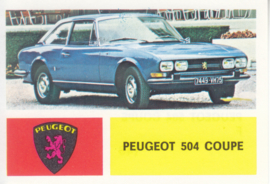 Peugeot 504 Coupé, 4 languages, # 146