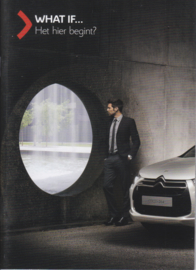 DS4 small intro brochure, 36 pages, 2011, Dutch language
