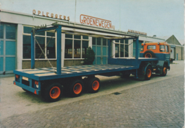 * Trailer type DRO-11-24, DIN A6-size postcard, Dutch issue