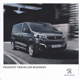 Traveller Business Van brochure, 4 pages, Dutch language, 02/2016