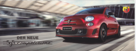 595 Competizione brochure, 10  pages, 05/2015, German language