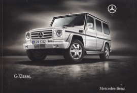 G-class brochure, 84 pages, 09/2009, German language