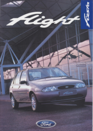 Fiesta Flight special edition UK brochure, 8 pages, 02/1997, English language