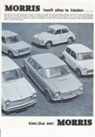 Program all model brochure, 8 pages, A4-size, about 1967, Dutch language