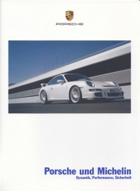 Michelin tyres for Porsche brochure, 28 pages, 12/2006, German language