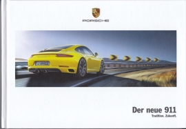 911 Carrera new model (991 II) brochure, 160 pages, 10/2015, hard covers, German