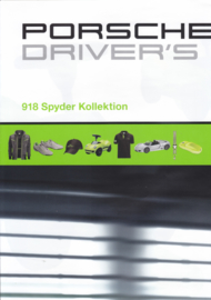 Selection - 918 Spyder Kollection brochure, 16 pages, 02/2011, German language