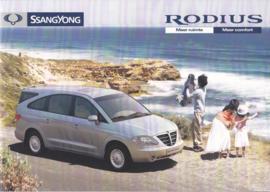 Rodius brochure, 20 pages, Dutch language, 05/2005