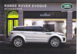Evoque accessories brochure, 24 A5-size pages, 12/2015, Dutch language