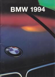 Program 1994 brochure, 42 pages, A5-size, 9/1993, English language