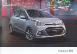 i10 4-Door Hatchback brochure, 12 pages, 11/2013, Dutch language