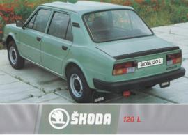 120 L Sedan leaflet, 2 pages, German language, about 1985