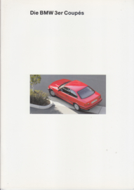 3-Series Coupé brochure, 34 pages, A4-size, 2/1993, German language