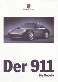 911 Carrera brochure, 116 pages, 09/1998, hard covers, German