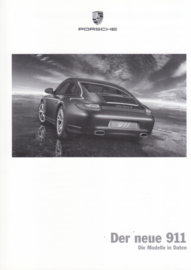 911 Carrera pricelist, 98 pages, 06/2008, German language