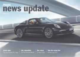 News Update UK with 911 Targa, 20 pages, 02/2014, English language