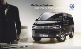 Multivan Business brochure, 20 pages, 01/2012, Swedish language