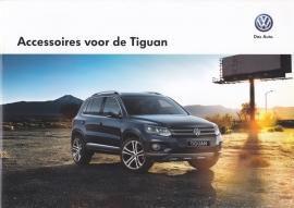 Tiguan accessories brochure, A4-size, 24 pages, Dutch language, 01/2015