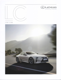 LC 500/LC 500h brochure, 52 pages, 06/2017, German language