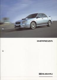 Impreza brochure, 36 pages, German language, 11/2003