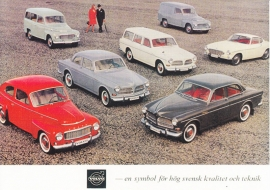 Volvo program about 1963 - nr. 17810