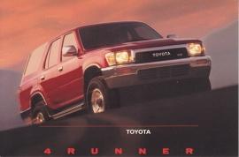 4Runner, US postcard, 1990