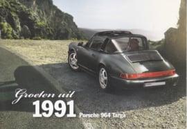 964 Targa 1991, Classic, Dutch, A6-size