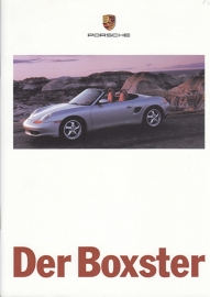Boxster brochure, 24 pages, 08/96, German %
