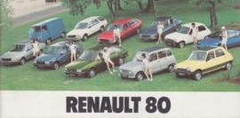 Program brochure, 32 smaller pages, 1980, Dutch language