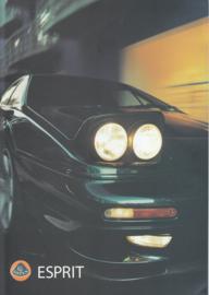 Esprit V8-GT/V8-SE sportscar, 6 pages, DIN A4-size, factory-issued, 1999, 4 languages (E/G/F/I)