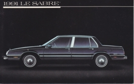 Le Sabre, US postcard, standard size, 1991