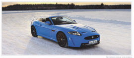 XK Coupe & Cabriolet & XKR (S), 7 different oblong cards, 11,5 x 22 cm, German language, about 2014