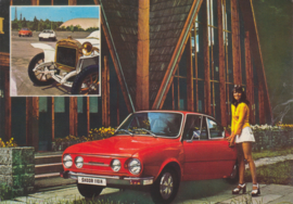 110 R, A6-size postcard, factory-issued, about 1969