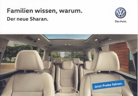 Sharan, A6-size postcard, German, 2015