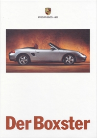 Boxster brochure, 90 pages, 08/1996, hard covers, German