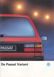 Passat Variant brochure, 32 pages,  A4-size, Dutch language, 08/1990