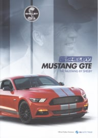 Mustang GTE, 4 pages, A4-size, 2017, English language, Dutch export issue
