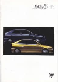 Delta program with HPE brochure, A4-size, 8 pages, 09/1997, Dutch language