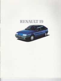 19 brochure, 38 pages, 1989, Dutch language