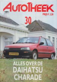 issue # 30, Daihatsu Charade, 32 pages, 2/1989, Dutch language