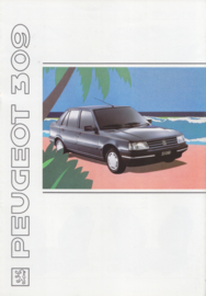 309 brochure, 8 pages, A4-size, 1991, French language