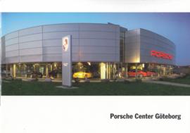 Porsche Center Göteborg brochure, 12 pages, about 2012, Swedish language