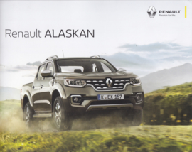 Alaskan Pick-up brochure, 24 pages, 08/2017, German language