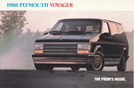 Voyager, US postcard, continental size, 1988