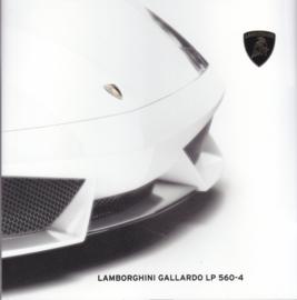 Lamborghini Gallardo LP560-4, 24 pages, 2008, English language