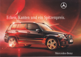 CLK intro brochure, 6 pages, 07/2009, German language